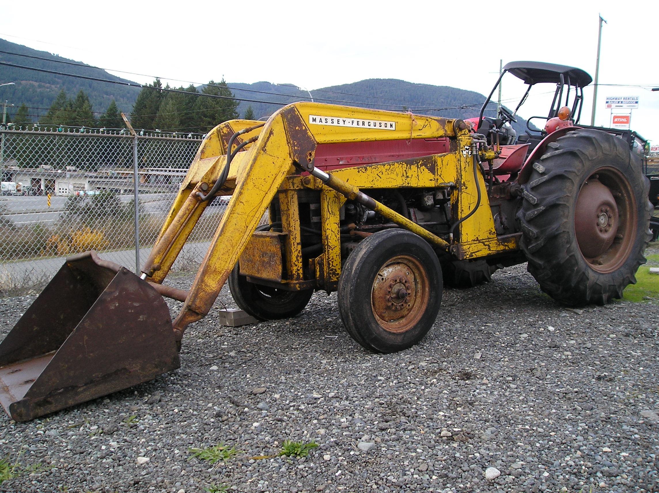 Massey Ferguson 135 With Loader : Massey ferguson tractor loader harbour city equipment