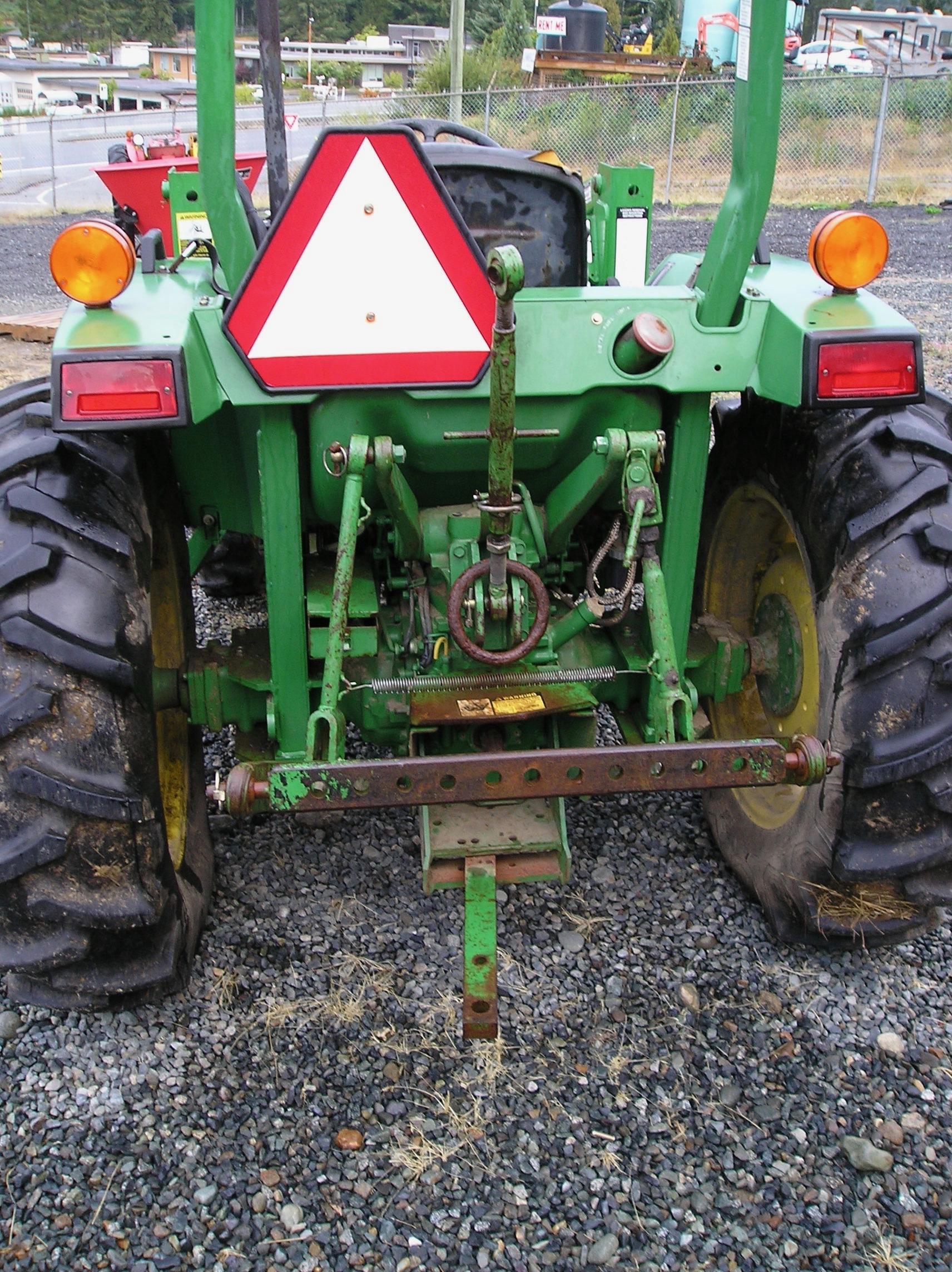 John Deere 870 Tractor Loader Harbour City Equipment