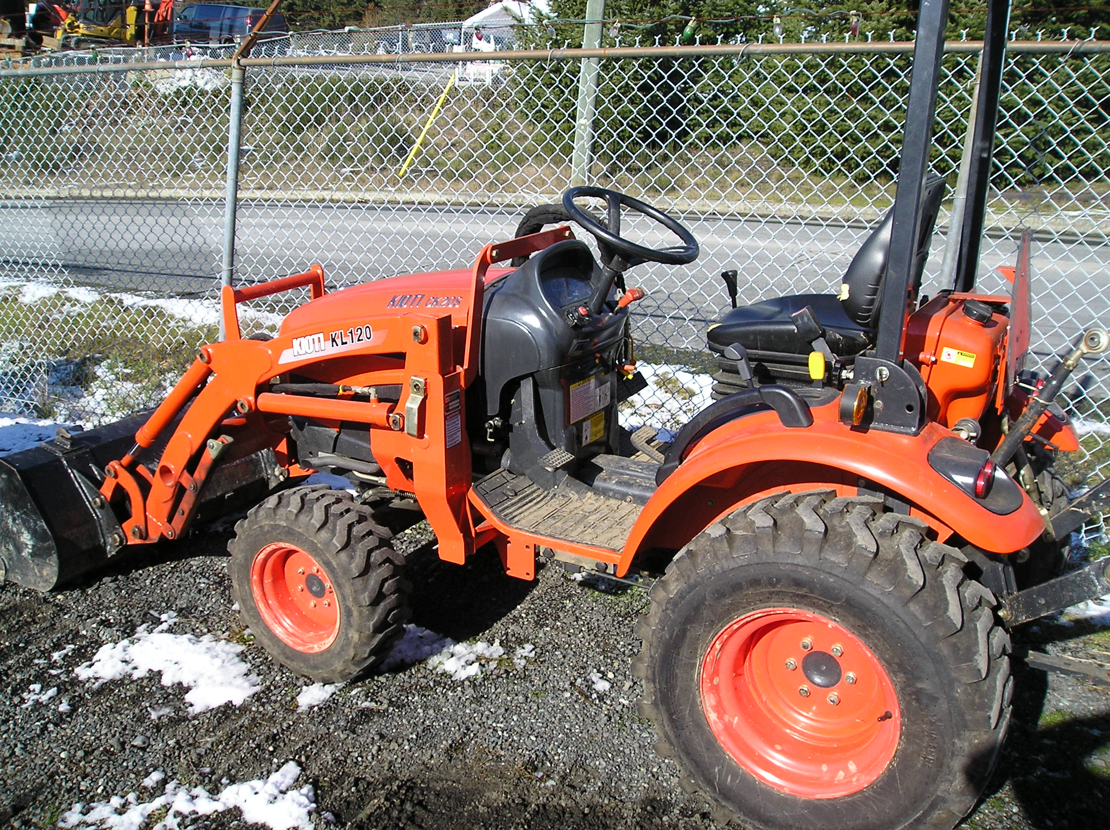 Used Tractor Tires For Sale >> kioti Ck20 hst tractor loader - Harbour City Equipment
